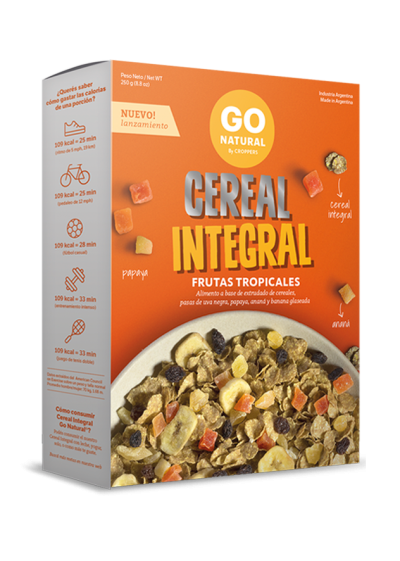Cereal Integral Frutas Tropicales