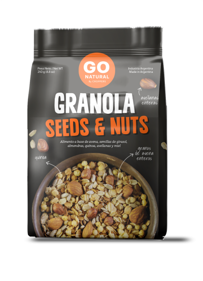 Granola Seeds and Nuts